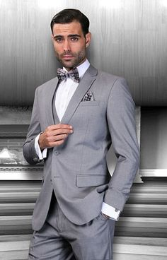 Statement Suits - Summer 2014 Lorenzo - Grey #MensSuits #MensFashion #Suits #SundaysVeryBest