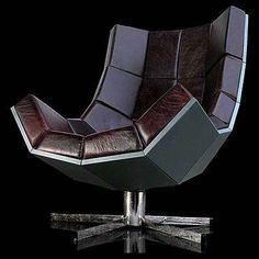"""""""How do you like my Quasi-Futuristic chair Mr Powers? It looks quite Evil , doesn't it? Bwahahaha!"""""""