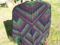 Mitred shawl