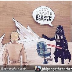 Happy Star Wars Days By @bigangethebarber: May the 4th be with you #starwars #barber #barbershop #barbering #babero #barberlife #barberworld #barbershopconnect #barbergang #hair #haircut #haircuts #barbergame #jersey #jerseycity #maythe4thbewithyou by woocutz