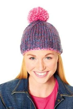 Loops & Threads® Cozy Wool™ Easy Knit Hat