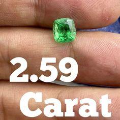 "𝐏𝐚𝐧𝐣𝐬𝐡𝐢𝐫 𝐄𝐦𝐞𝐫𝐚𝐥𝐝 𝐎𝐟𝐟𝐢𝐜𝐢𝐚𝐥 on Instagram: ""2.59 Carat stunning piece of Panjshir Emerald Dimension: 7.7x7.3x6.6 mm DM for more details"" Gems For Sale, Emerald, Instagram, Emeralds"