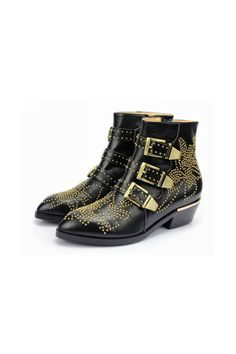 CARMEN Gold Studded Ankle Boots Buy Chloe Susan Studded Ankle Boots Inspired | Online Store CARMEN Gold Studded Ankle Boots | Runway Shoes - Jessica Buurman [685] - $129.00 : JESSICABUURMAN.COM