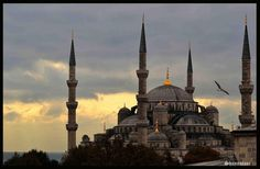 Istanbul's Sultan Ahmed Mosque, the landmark of the city