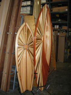 Build your own DIY hollow wooden kick ass surfboard from a kit. http://www.tuckersurfsupply.com/