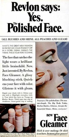 vintage makeup ad | Found on cosmeticsandskin.com