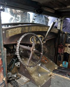 Just a car guy : greatest rat rod collection I've ever come across, the Welder Up cars & Diamond T hauler