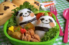 Sushi de pandas. #Creatividad #Culinaria
