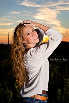 Beautiful sunset!!!  Hendersonville TN Senior Pictures