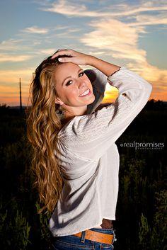 Beautiful sunset!!!  Hendersonville TN Senior Pictures