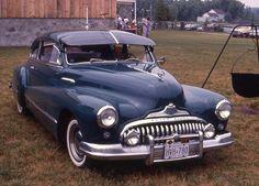 1947 Buick Super model 50 two-door Sedanette