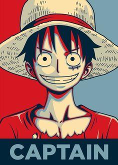 Luffy ~ one piece One Piece Anime, One Piece Luffy, Monkey D Luffy, Manga Anime, Anime Art, Manga Girl, Anime Girls, One Piece Wallpaper Iphone, Print Artist