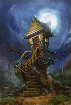 The Witch House - Illustration by Taeyoung Choi - Korea