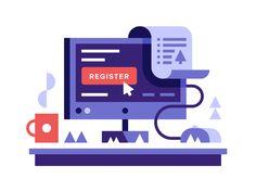 Register .NGO Domains by Alex Pasquarella #Design Popular #Dribbble #shots