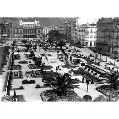 /09/1924 Vista de la plaza, los jardines de Alderdi Eder y del casino de San Sebástian: Descarga y compra fotografías históricas en | abcfoto.abc.es