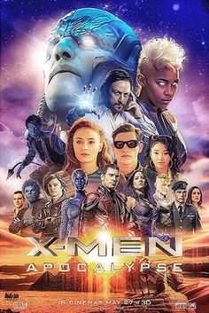 X-men apocalypse fan poster