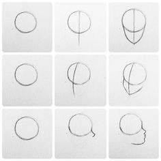 Really basic head drawing tutorials. The 3rd one really takes a lot of time and practice to master.. Even I still have trouble with it or at least I think so. Please check this hashtag before asking for any sort of tutorial #CarrahTutorial I have a hair/coloring tutorial on my YouTube Creative Carrah
