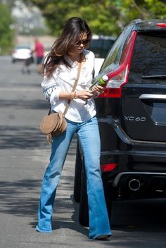 Jenna Dewan-Tatum Rocks Bell Bottoms - Pictures - Zimbio