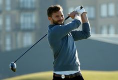 This shot could be your new wallpaper� | Jamie Dornan Golfing Will Be Your Desktop Background For The Rest Of Your Life
