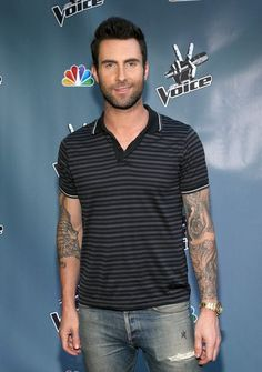 Adam Levine is a lefty, but plays guitar right-handed.