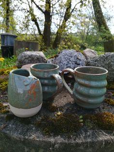 Belliemugs och kanna. #keramik #kaffe