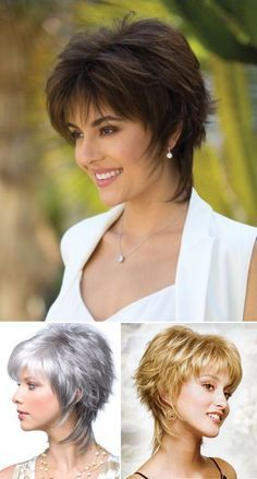 Shown in the picture: The practical and youthful peaked short haircut Bem na foto: O prático e jovial corte de cabelo curto repicado Shown in the picture: Practical and youthful peaked short haircut ⋆ Oceanfront Shaggy Short Hair, Short Shag Hairstyles, Short Layered Haircuts, Short Hairstyles For Women, Short Haircut, Medium Hair Cuts, Medium Hair Styles, Curly Hair Styles, Short Hair With Layers