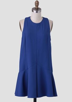 Can't Stop Dancing Drop Waist Dress. Pair with nude flats. Hair in bun. A watch to pair. Awesome modern chic bride companion dresses for the girls! Dress Up, High Neck Dress, Flapper Style, Vegan Fashion, Drop Waist, Pleated Skirt, Pretty Dresses, Going Out, Style Me