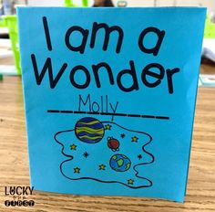 We're All Wonders Mini Book {FREEBIE} - Lucky To Be In First