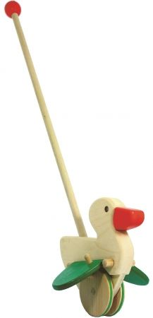 BAJO duck push along toy - hardtofind.