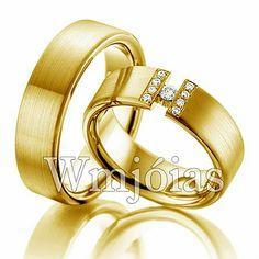 Aliança de casamento exclusiva