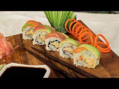 Rainbow Sushi Roll Recipe - Rainbow Foods