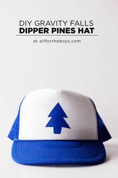 DIY Gravity Falls Dipper Pines hat!