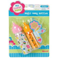 Toysmith My Sweet Baby Magic Baby Bottles ** Check this awesome product by going to the link at the image. (This is an affiliate link) Sweet Magic, Magic Bottles, Fake Baby, American Baby, Real Doll, Baby Alive, Baby Diaper Bags, Bitty Baby, Toys Online