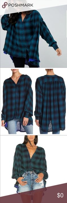 f1b8d37c96 ️IN SEARCH OF ‼ I am in search of this come over flannel top ‼