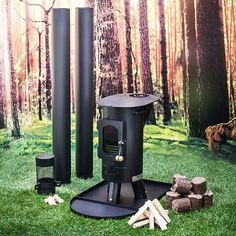 Stoves can make an excellent addition to any semi-permanent glamping set-up. The Traveller stove keeps the tent comfortable even on chilly mornings and helps inhibit the growth of troublesome mold spores by helping the canvas stay dry. It can also be used for cooking, and requires
