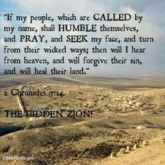 If My people who are called .....
