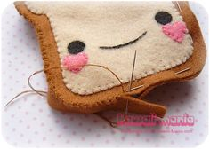 kawaii toast DIY