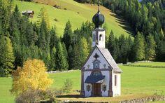 Church Italy Selva di Val Gardena, Italy