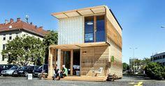 Unterkünfte in Modulbauweise: Neue Flüchtlingsheime aus Holz | Frankfurter Neue Presse