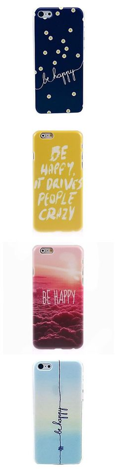 Need a daily reminder to be happy? These iPhone cases will help you smile all day long. Check them out!