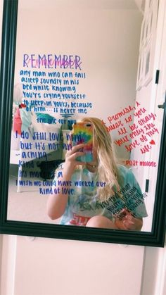 i don't like the quotes, but the idea of writing quotes on mirrors is amazing My New Room, My Room, Photo Girly, Relationship Goals, Relationships, Room Inspiration, Love Quotes, Real Quotes, Couple Quotes