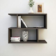 Clever Bookshelf Wall Shelf Decor, Wall Shelves Design, Cabinet Decor, Home Decor Furniture, Furniture Design, Floating Shelves Bedroom, Diy Room Divider, Wooden Door Design, Affordable Furniture