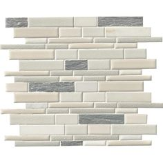 MS International Everest Interlocking 12 in. x 12 in. x 8 mm Porcelain and Stone Mesh-Mounted Mosaic Tile
