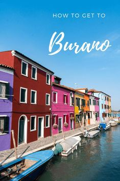 Burano is a colourful island found 45 minutes away from Venice next to Murano. It's instagram famous for it's colourful streets and houses, as well as making lace here. There's nowhere to escape the colours here and is amazing for photography. Find out how to get here from Venice, as well as what to do with this guide #venice #italy #traveldestinations