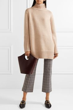 Protagonist | Oversized silk, mohair, wool and cashmere-blend turtleneck sweater | NET-A-PORTER.COM