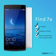 Oppo Find 7a is now available in Stock - http://www.doi-toshin.com/oppo-find-7a-now-available-stock/