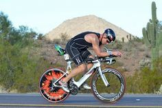 Tom Quigley is an age-grouper with an amazing custom-painted Quintana Roo Illicito triathlon bike