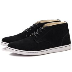 Fancy - Black Chukka Boots by Comme des Garcons SHIRT x Pointer