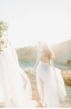 Spanish Cliff Bride Inspirations by In Love by Bina Terré