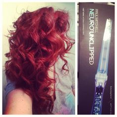Curls with the new Paul Mitchell neuro unclipped!